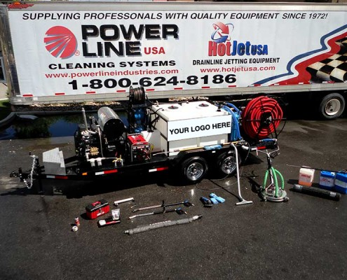 Pressure Washer Trailer Enviro System Pro Package 3