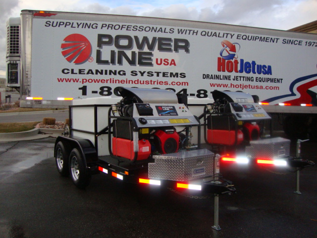 Trailer Mounted Power Washer Pro Package 1