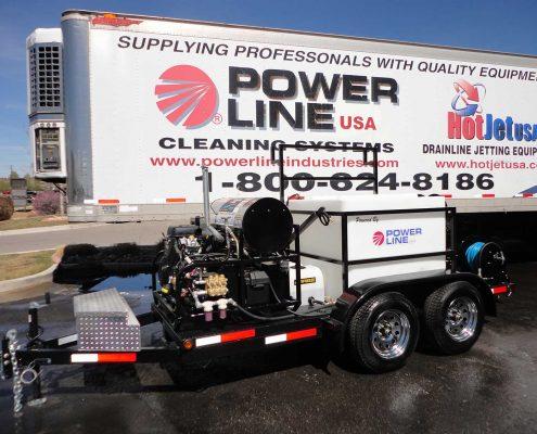 POWER WASH TRAILER MOUNTED 35HP