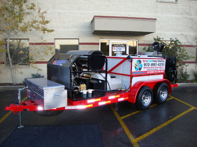Trailer Mounted Power Washer Environmental Pro Package 2
