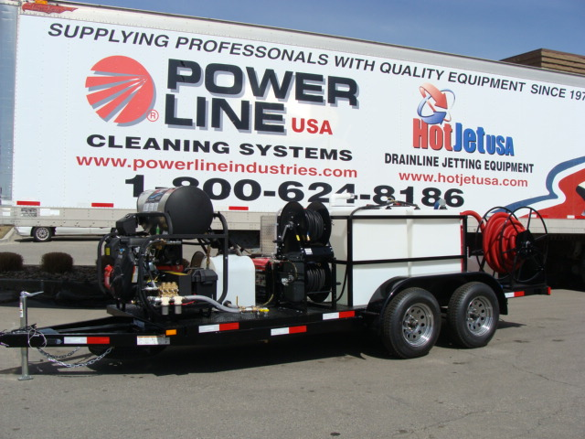 Power Wash Trailer Enviro System Pro Package 2