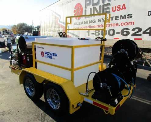 Power Wash Trailer Mounted Pressure Washer 23HP